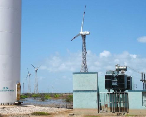 Mitcon - Parc éolien en Inde