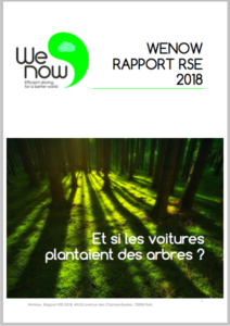 Rapport RSE WeNow 2018